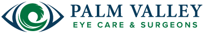 palm valley eye care logo