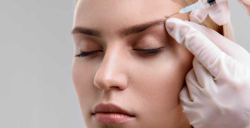 botox eye treatment at palm valley eye