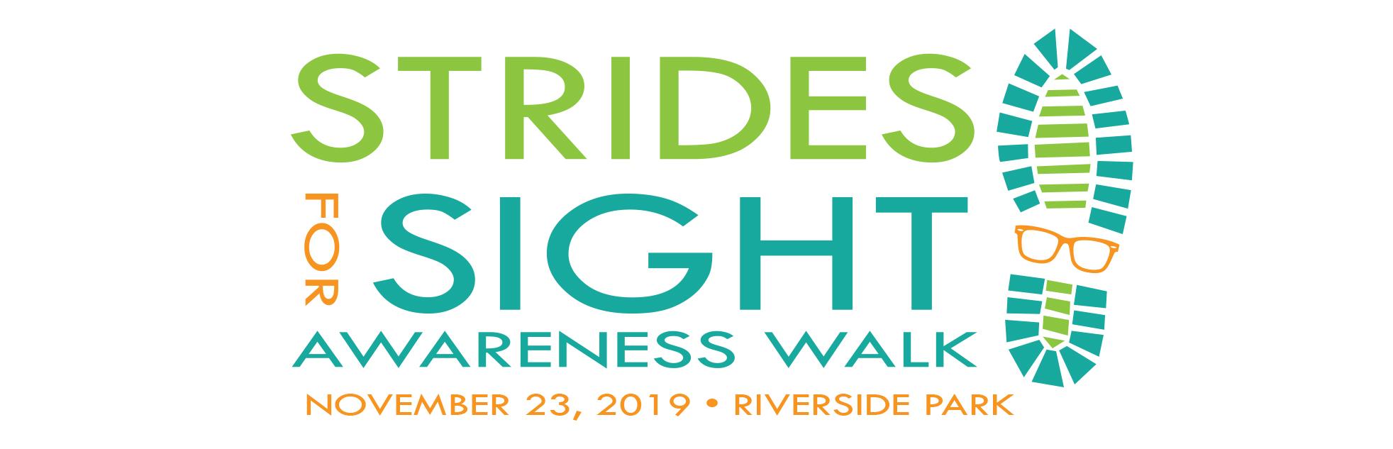 strides for sight awareness walk